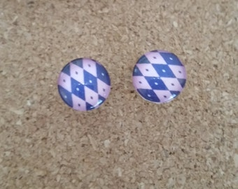 checker board studs