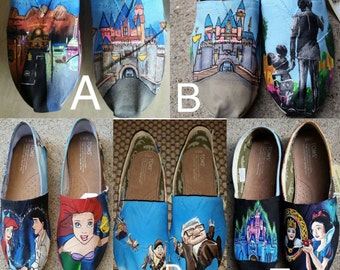 Hand Painted Toms: Collage