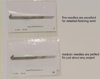 Felting Needles - set of 3