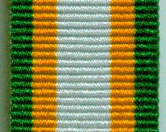 African Union Miniature Medal Ribbon.
