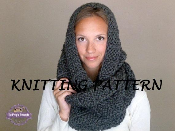 Free Knitting Pattern Child Infinity Scarf : KNITTING PATTERN The Celebrity Scarf Knit Infinity Scarf
