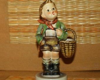 Vintage Hummel Village Boy 5 1/4 inches TMK 5