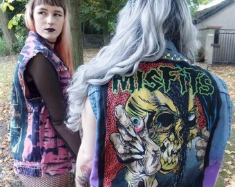 Misfits Denim Jacket - X Large
