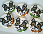 Boston Terrier Dog Cookies