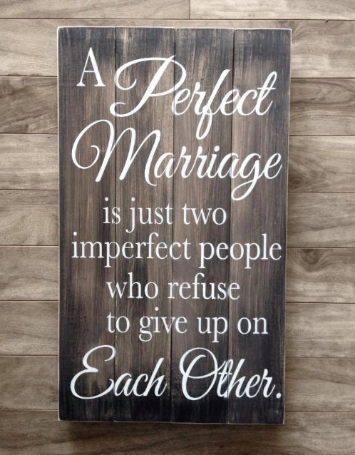 Perfect Wedding Anniversary Gift For Husband: A Perfect Marriage Sign Anniversary Gift