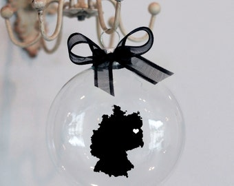 Germany Christmas Ornament. Custom, Travel, Mission, Adoption