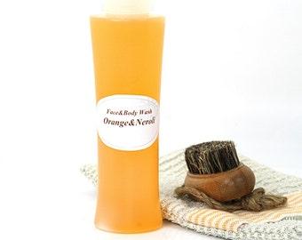 """Face and Body wash """"Orange&Neroli"""""""
