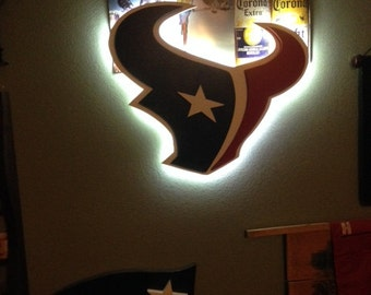 Houston Texans LED 3D wall logo