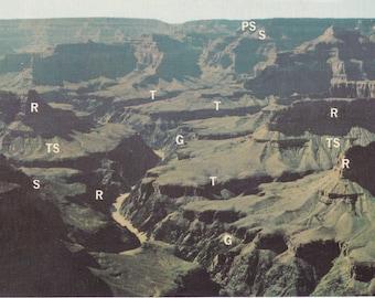 Set of 4 Vintage Grand Canyon Postcards