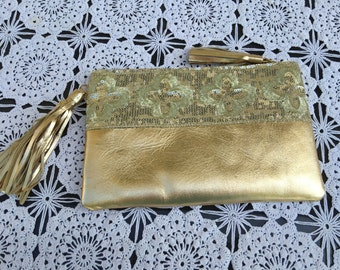 Gold Indian Clutch>Purse>Evening Bag>fantastic Wedding >accessory>gift idea>special Occasion>summer or winter trends