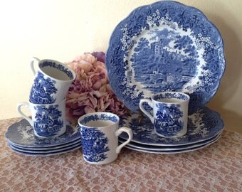 Romantic England Collectible China (12 PC)