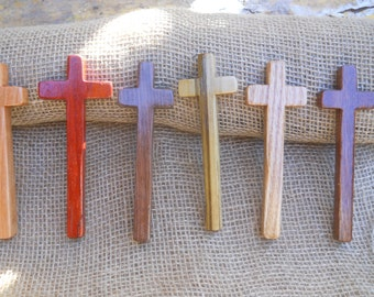 Handcrafted Wood Palm Cross