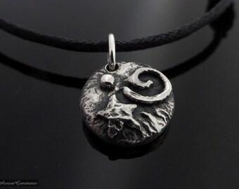 Silver Pebble Mystic Necklace Choker