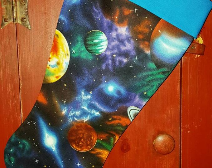 Space Christmas Stocking