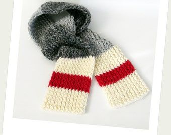 Scarf style of wool
