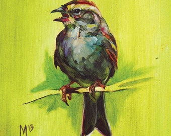 Chipping Sparrow Print