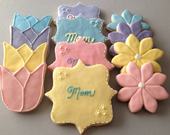 Mother's Day / Birthday Sugar Cookies
