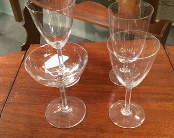 Baccarat Crystal Coppelia Glass Set