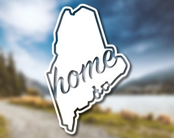 Decals For Home Etsy - Custom vinyl decals maine