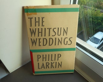 The Whitsun Wedding by Philip Larkin - Hardback Faber & Faber - poetry poems books collections literature vintage gift ideas