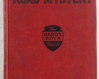 Hardy Boys #6 The Shore Road Mystery Franklin W Dixon 4th Print Vintage Red Book