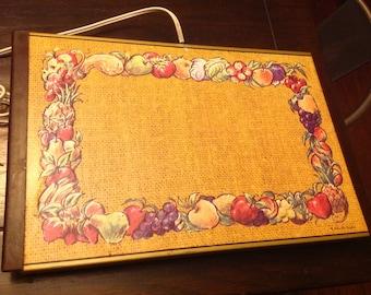 CLOSING SHOP Vintage 60s warming tray Warm O Tray