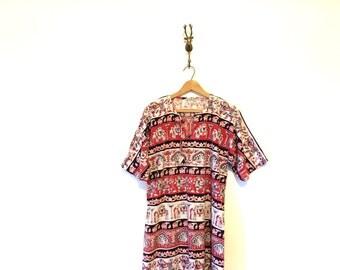 Long Indian Tapestry Caftan