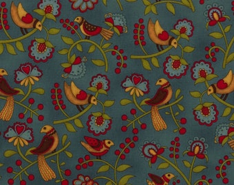 "A ""Prairie Journal"" fabric by Henry Glass."