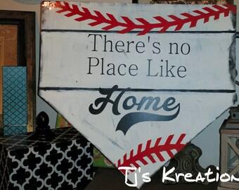 No Place Like Home Baseball Home Plate