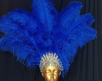Blue  Royal Crown MADE IN USA  express  shipping on all items