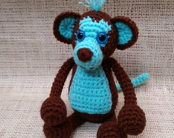 Crochet Maximus the Monkey - Made to Order