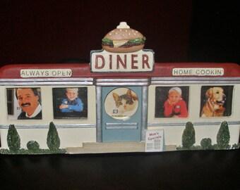 Whimsical vintage MOMS DINER FRAME by Figi Frames