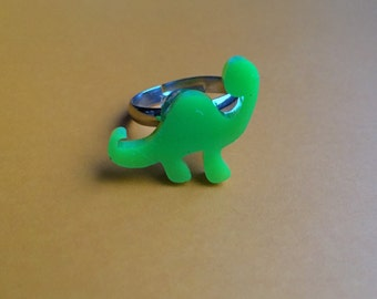 Green Dinosaur Ring
