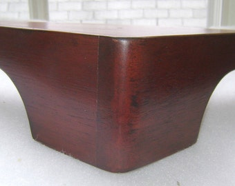 Furniture Legs Feet Cabinet Couch Chair Ottoman Sofa Walnut Finish (1 leg)