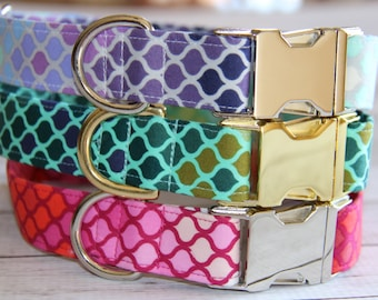 Mosaic Dog Collar Collection