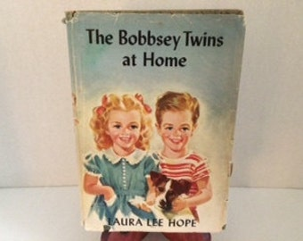 The Bobbsey Twins at Home by Laura Lee Hope - 1944