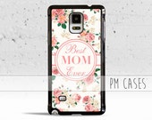 Best MOM Ever Case Cover for Samsung Galaxy Note 1/2/3/4/5/s3/s4/Mini/s5/s6/s7/Edge/Active/Plus