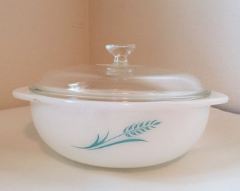 Pyrex Blue Wheat Promotional 023