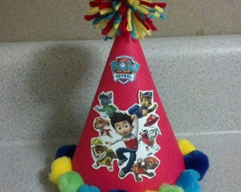 Paw patrol party hat paw patrol party supplies