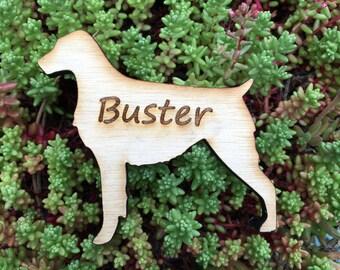Laser Cut Brittany Magnet