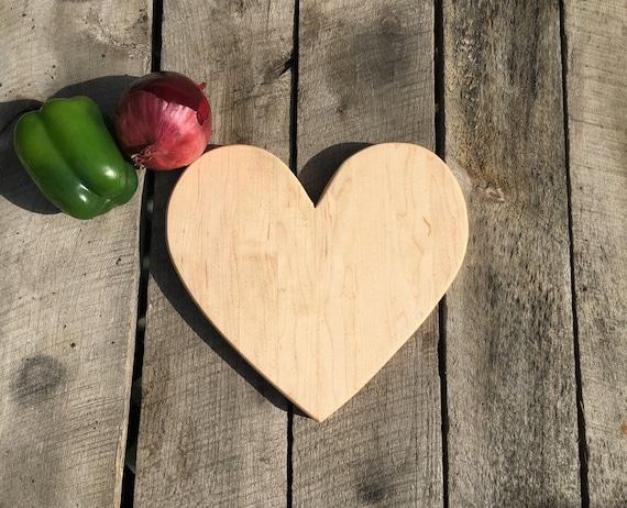 Maple Heart Cutting Board