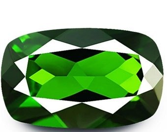 1.62ct Flawless Dazzling Earth Mined Rare 5A Green Chrome Diopside
