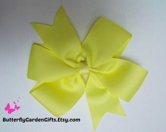Maize pinwhel hair bow clip