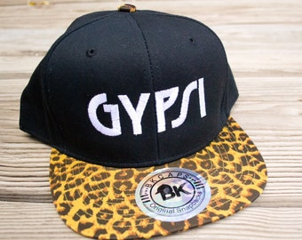 Kellee Leopard Print Gypsi Snapback