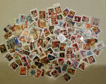 Christmas stamps for art projects