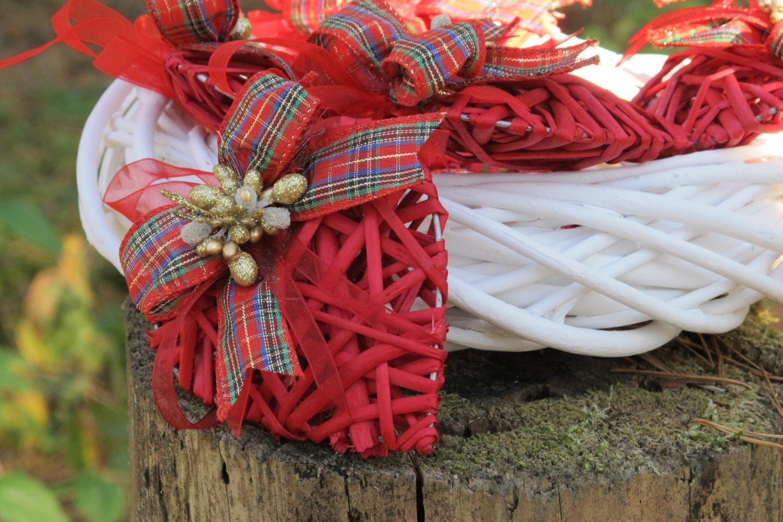 Heart Shaped Ornament Christmas Tree Ornament By FlorArtSilva