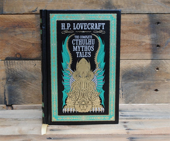 Hollow Book Safe - Cthulhu Mythos Tales - Leather Bound