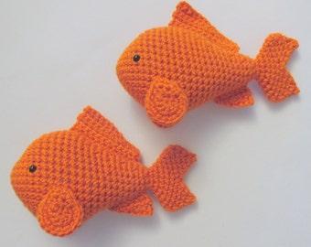 Amigurumi Goldfish PDF Crochet Pattern INSTANT DOWNLOAD