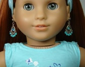 "Boho Earring Dangles for 18"" Play Dolls such as American Girl®"