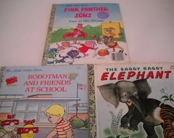 Set of 3 Little Golden Books
